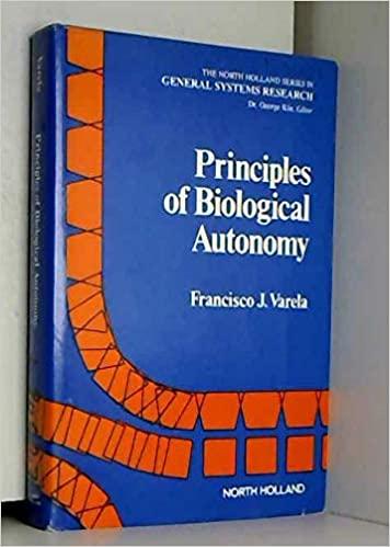 Principles of biological autonomy